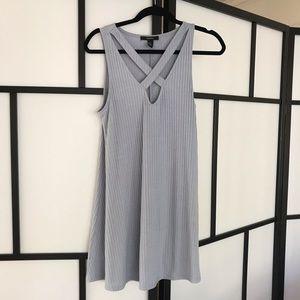 Blue Criss Cross Dress, Forever 21